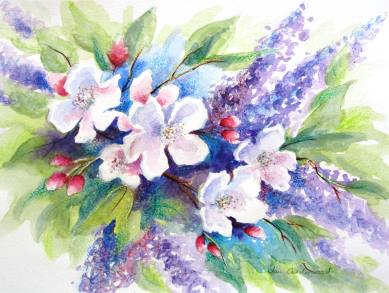 Apple Blossom and Lilac.