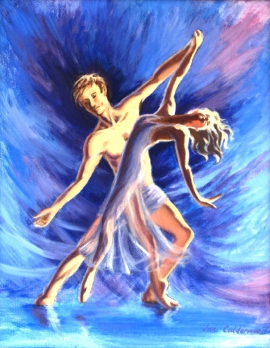 ballet-dancers-oil-painting-for-sale-jan-calderwood