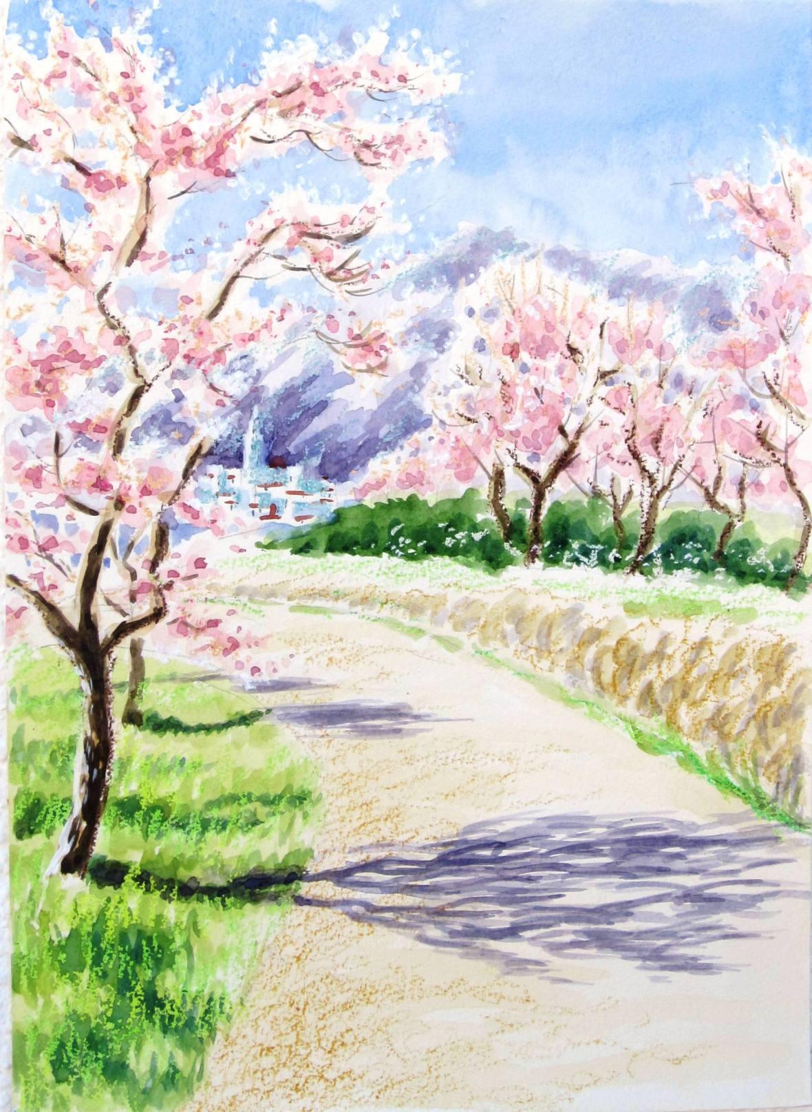 Blossom plein air 2015