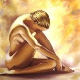 Golden nude