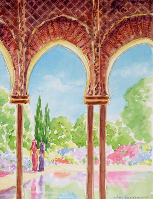 Moorish Paradise Garden